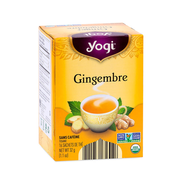 Yogi Tea Ginger tea Organic Herbal Tea 32g, 16 tea bags