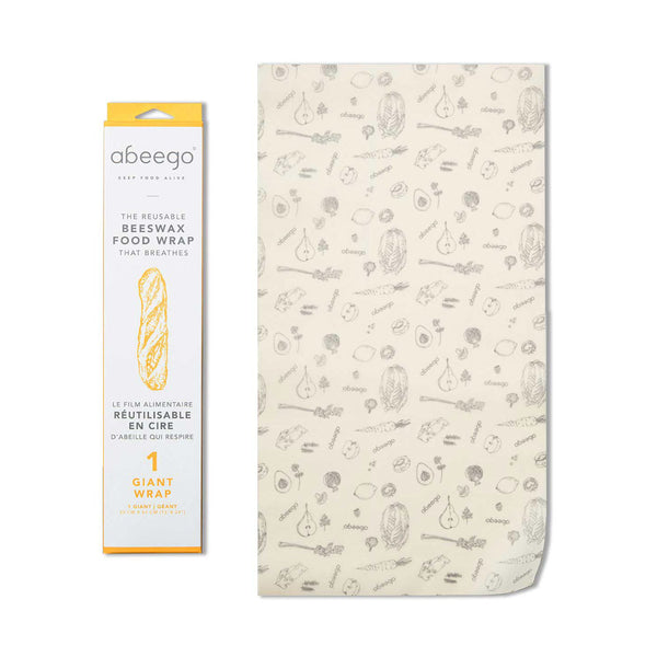 Abeego Giant Beeswax Food Wrap (1)