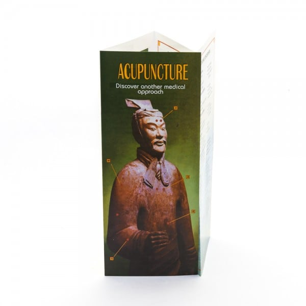 Acupuncture Brochure: Discover another medical approach 50pcs