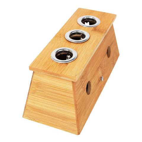 Bamboo Moxa Holder from Lierre Canada for moxa sticks, moxa rolls