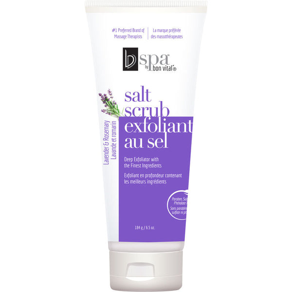 BVspa by Bon Vital' Lavender & Rosemary Salt Body Scrub
