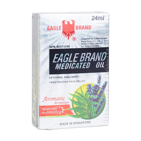 Eagle Brand Medicated Oil, Lavender and Eucalyptus