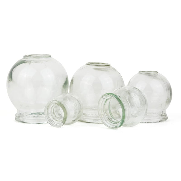 Glass Fire Cupping Set 5pcs