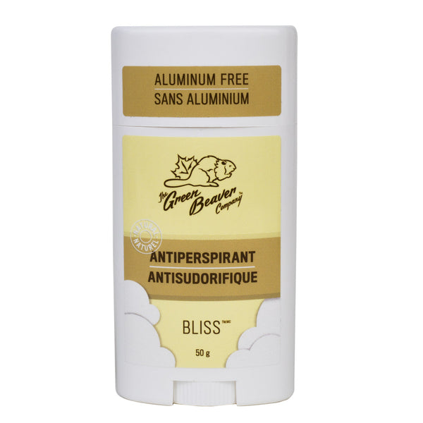 The Green Beaver Company's Women Aluminum-Free, Natural Antiperspirant In Bliss (50g)