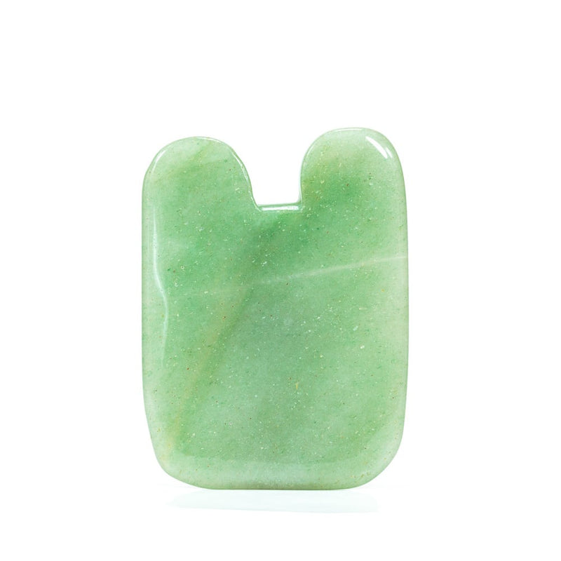 Jade Gua Sha (tooth shape) - Thera Crystals™