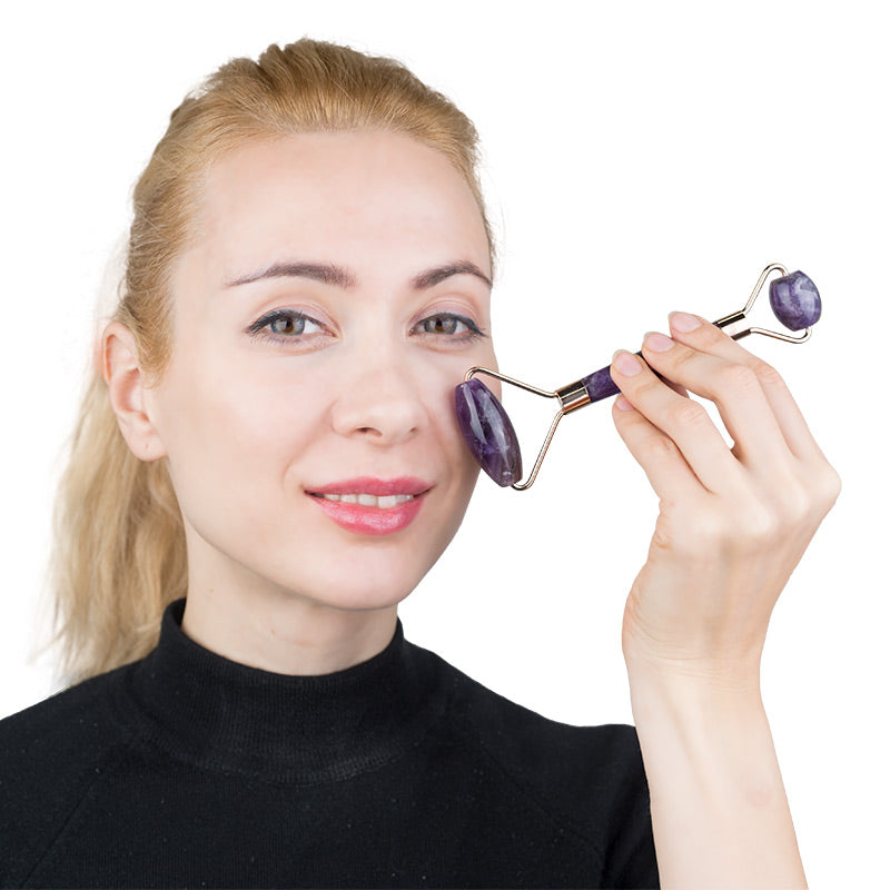 Thera Crystals™ Amethyst Facial Roller