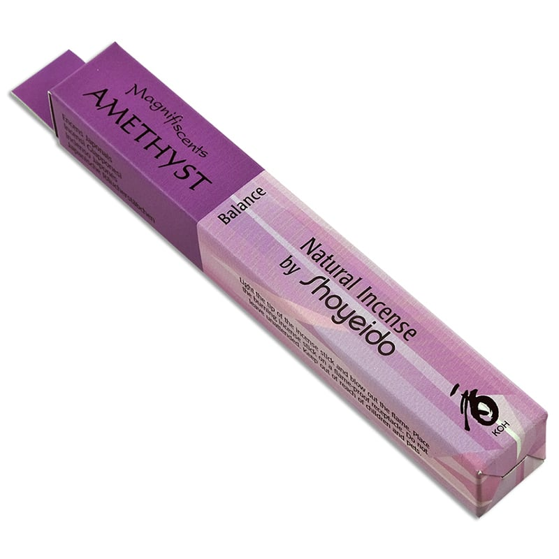 Amethyst Natural Incense by Shoyeido