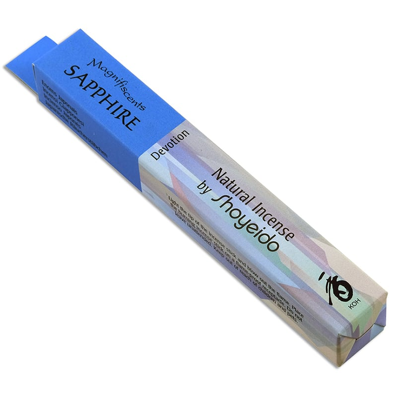 Sapphire Natural Incense by Shoyeido