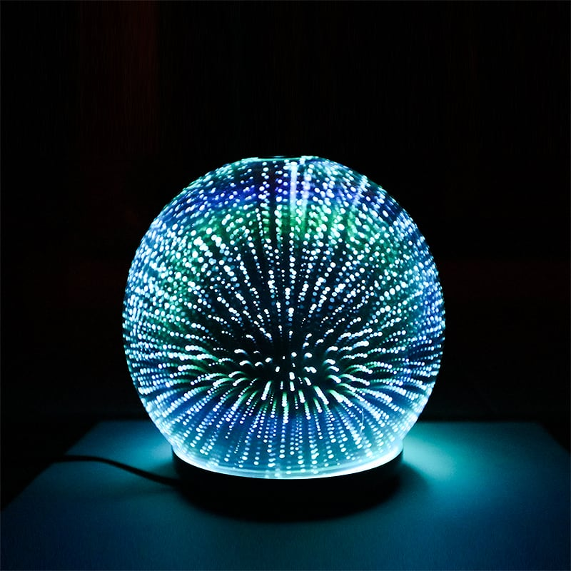 Ultrasonic Aroma Diffuser 3D Glass