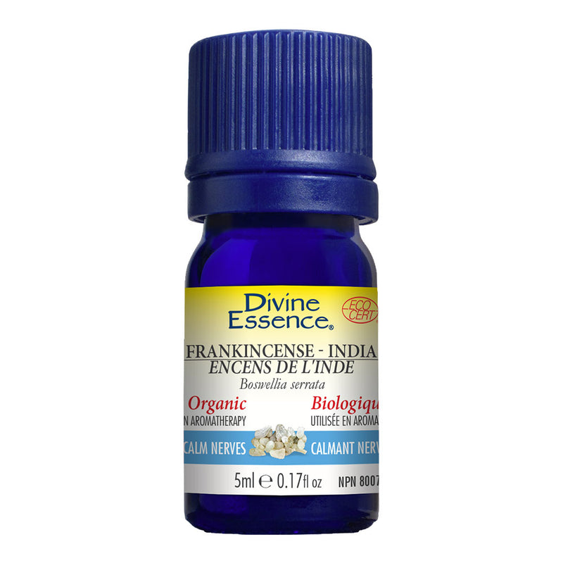 Frankincense (India) Organic Essential Oil 5ml, DIVINE ESSENCE