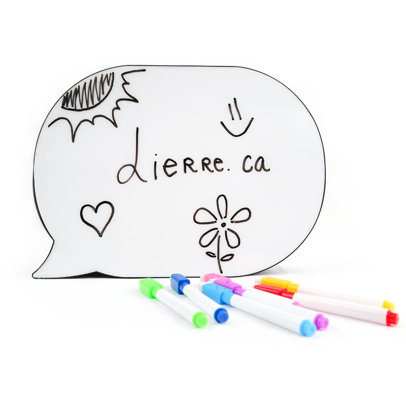LED Light Box Bubble Speech
