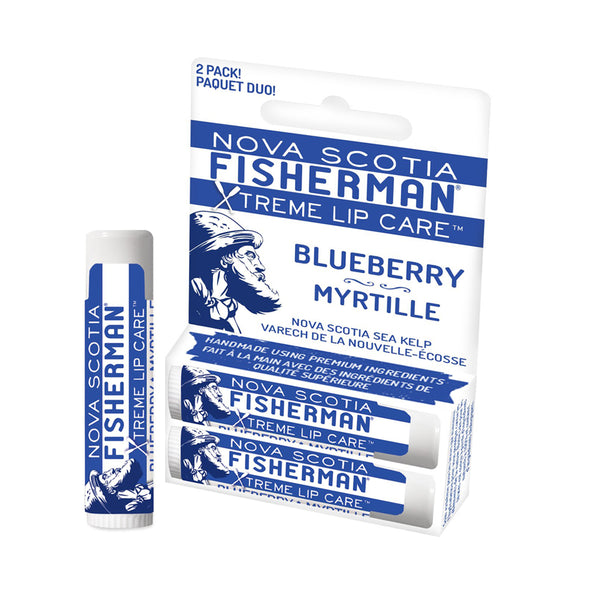 Nova Scotia Fisherman Blueberry Lip Balm 2 pcs