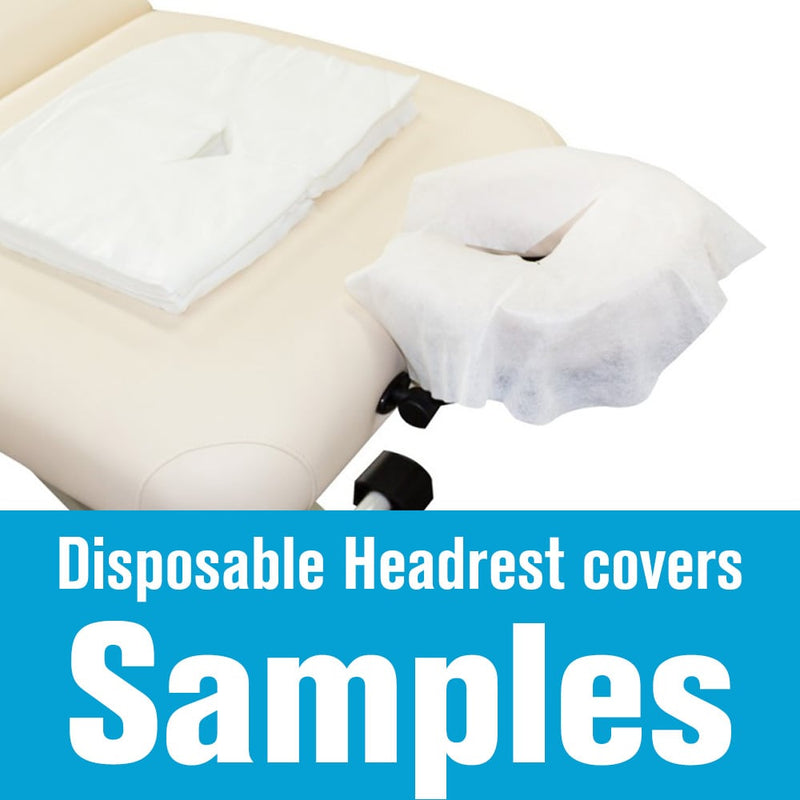 Disposable Headrest Cover Samples