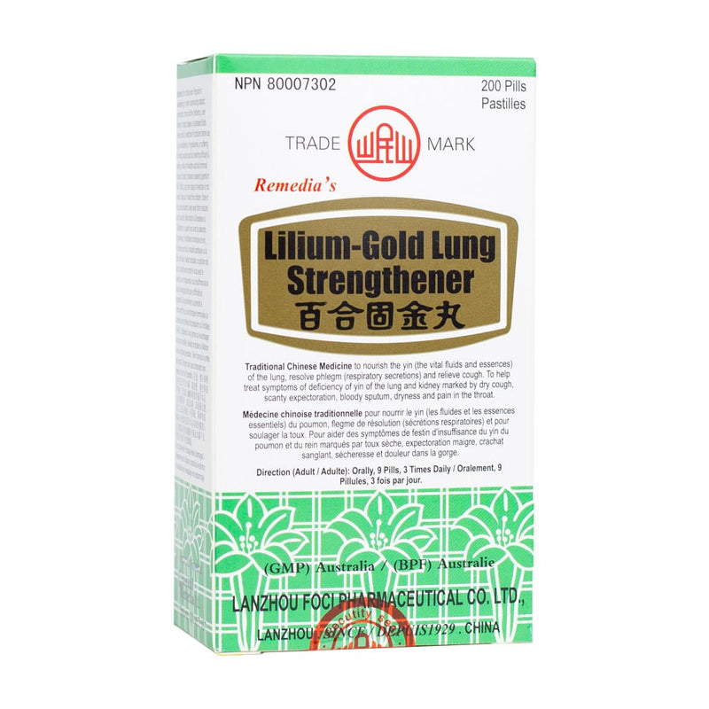 Lilium-Gold Lung Strengthener