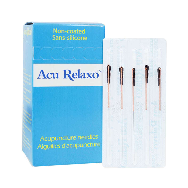 Acu Relaxo™ non-coated acupuncture needles 100 / Box