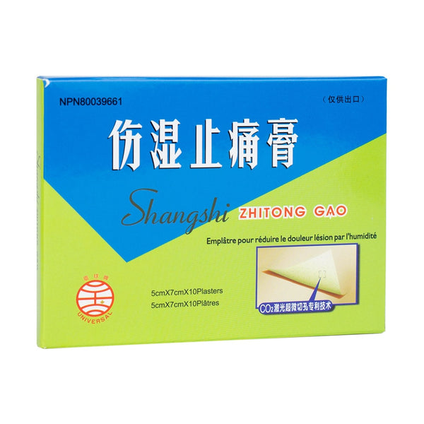 Patch analgésique - Shang Shi Zhi TONG Gao