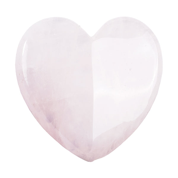 Rose Quartz Sculptor Gua Sha (Heart Shape)  -  Thera Crystals™