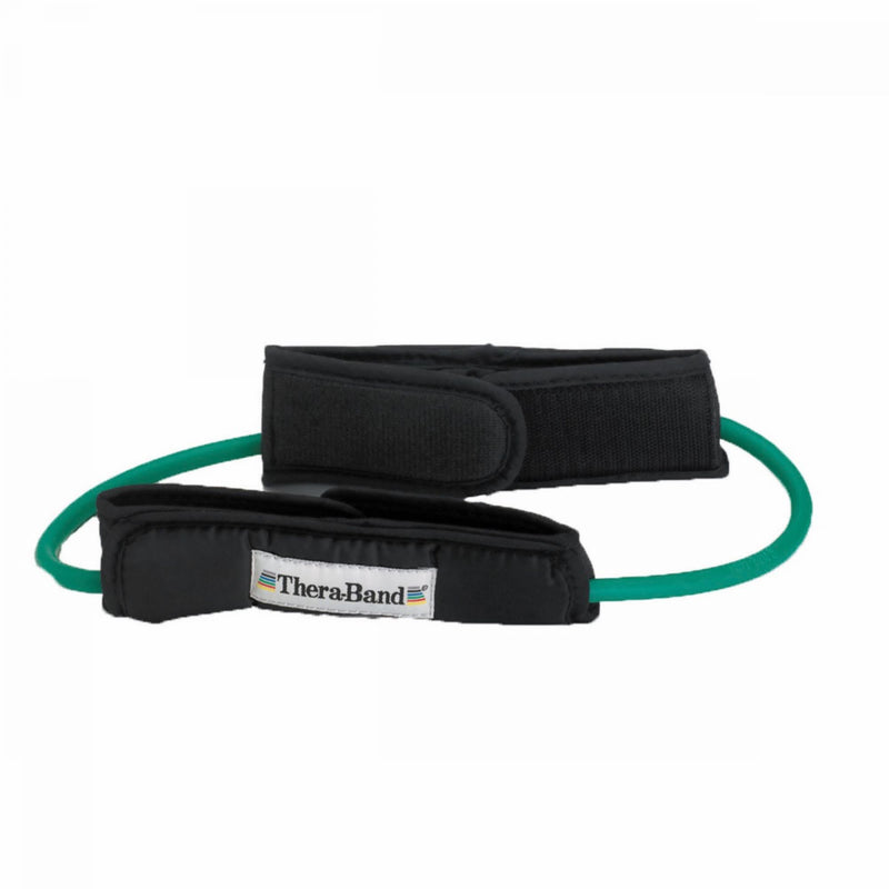 TheraBand Professional Resistance Tubing Loop with Padded Cuffs