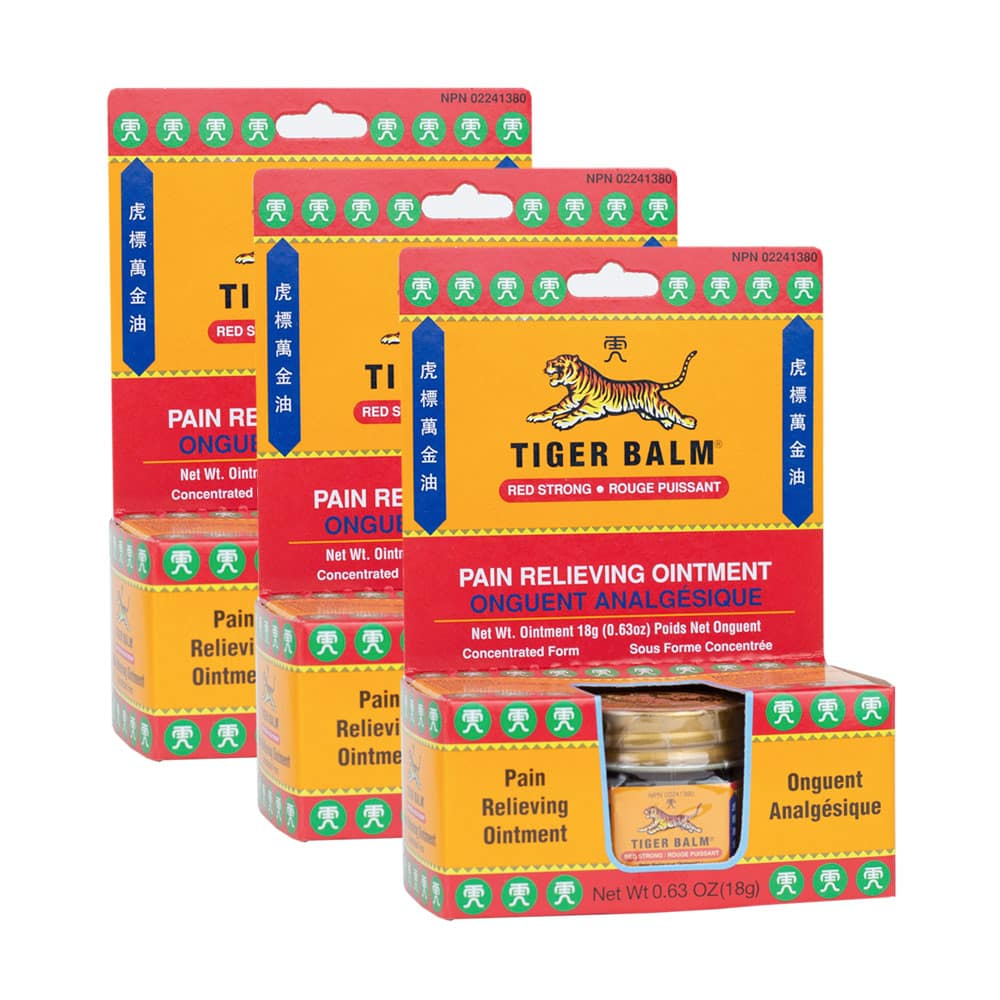 Tiger Balm Red (Strong) 3 units