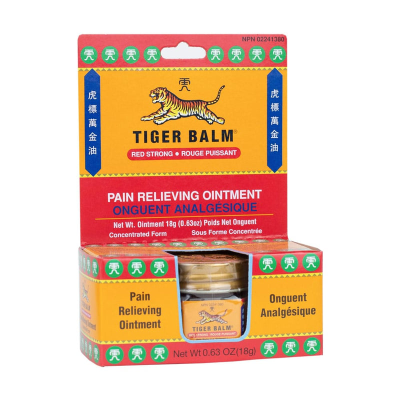 Tiger Balm Red, Strong