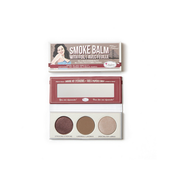 theBALM Smoke Balm 3 Color Eyeshadow Palette