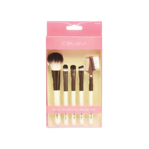 CELAVI Daily Essential Brush Set