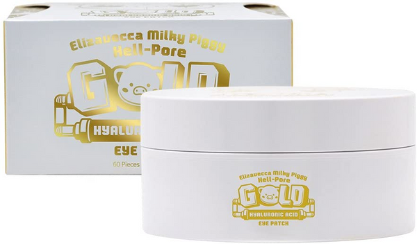 ELIZAVECCA Milky Piggy Hell Pore Gold Hyaluronic Acid Eye Patch (60 pieces)