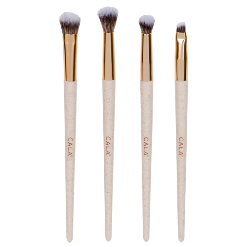 CALA Eco Naturale Signature 4 Piece Eye Brush Set