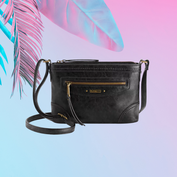 ROSETTI Cindy Mini Crossbody Bag (Black)