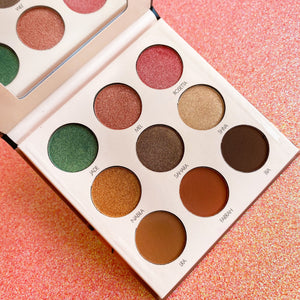 ANGII Desert Rose 9 Color Eyeshadow Palette