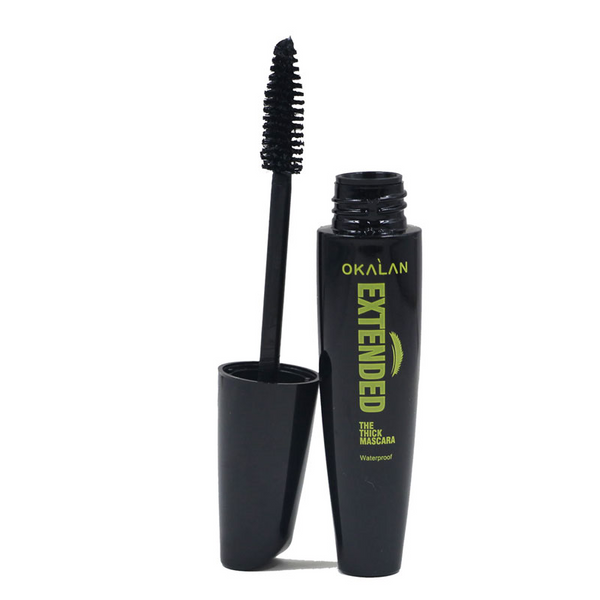 OKALAN Extended Waterproof Thick Black Mascara