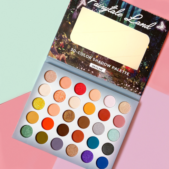 OKALAN Fairytale Land 30 Color Eyeshadow Palette