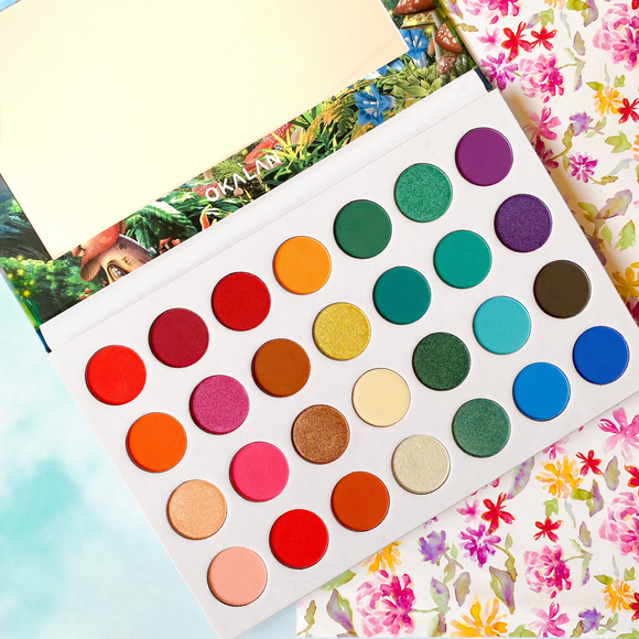 OKALAN Wonderland 28 Color Eye Shadow Palette