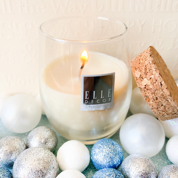 ELLE DECOR Chardonnay Scented Candle