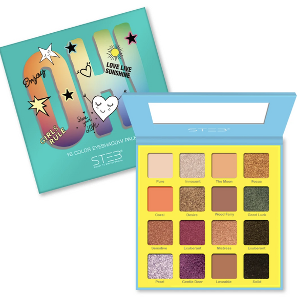 STEB 16 Color OH! Eyeshadow Palette