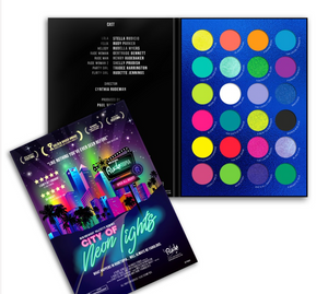 RUDE 24 Color City of Neon Lights Eyeshadow Palette