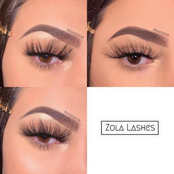 ZOLA 25mm MINK BUNDLE ($10 per pair)