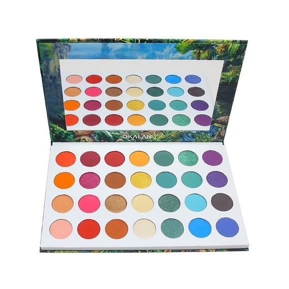 Wonderland 28 Color Eye Shadow Palette