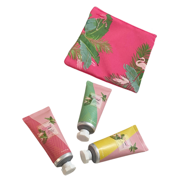 LOHA Tropical Lotion Trio with Pouch