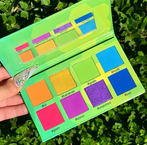RUBY MAY #Brights 8 Color Eyeshadow Palette