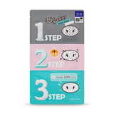 HOLIKA HOLIKA Pig Nose Clear Blackhead 3-Step Kit (Pack of 2)