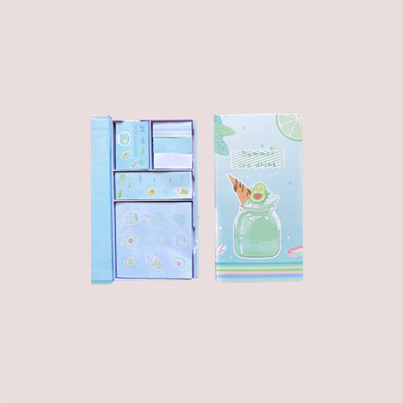 JANE MARIE Avocado Post It Note Pack