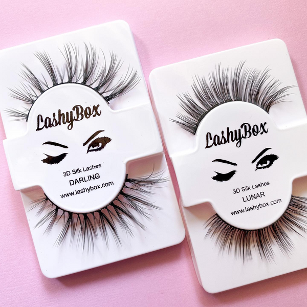 LASHY BOX Silk Lashes - Darling