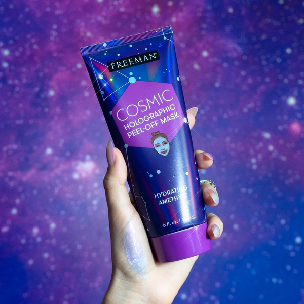 FREEMAN Cosmic Hydrating Amethyst Holographic Peel-off Mask
