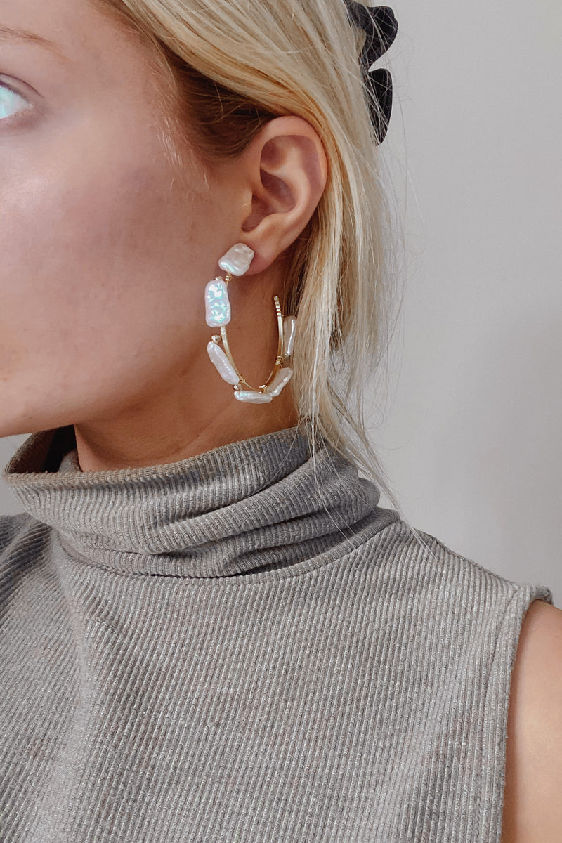 Brinkley Hoop Earrings