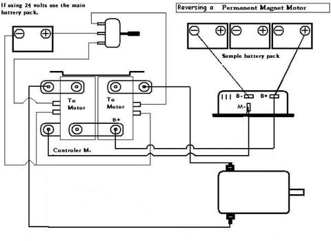 Reverse Contactor Diagram for PM Motors
