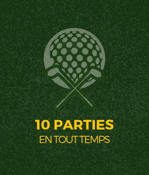 Partie de golf 18 trous - Club de golf St-Simon sur la rive sud