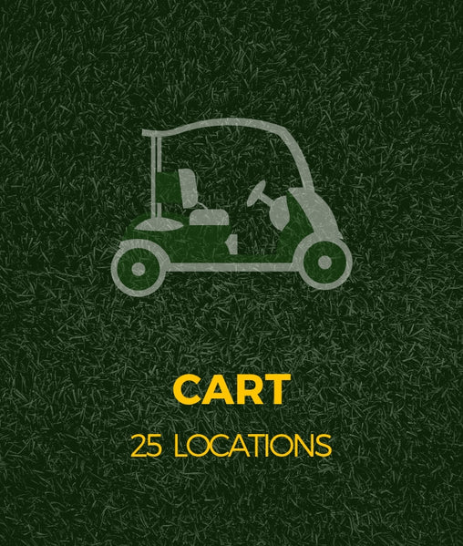 Voiturette de golf en location - cart de golf - Golf st-simon