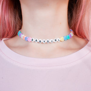 Babygirl Necklace/Choker