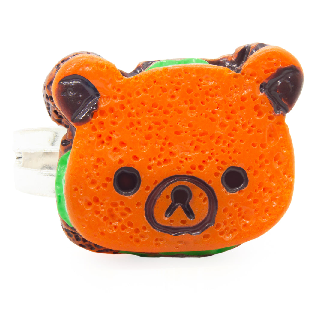 Teddy Sandwich Ring